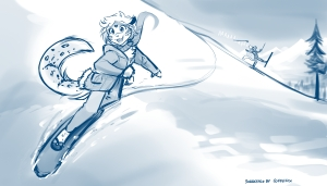 Snowboarder Maeve
