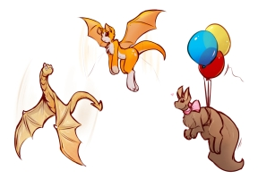 Flying Familiars