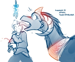 A Dragon Kiss